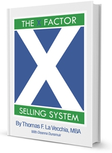 """The X Factor Selling System: The Sales Expert's Guide to Selling"" is now available!"